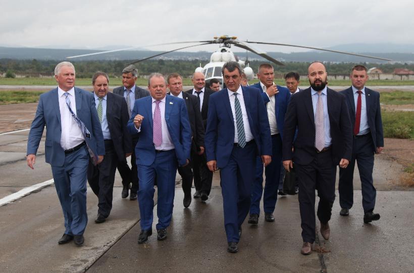 Полпред президента в СФО посетил предприятие холдинга «Вертолеты России»