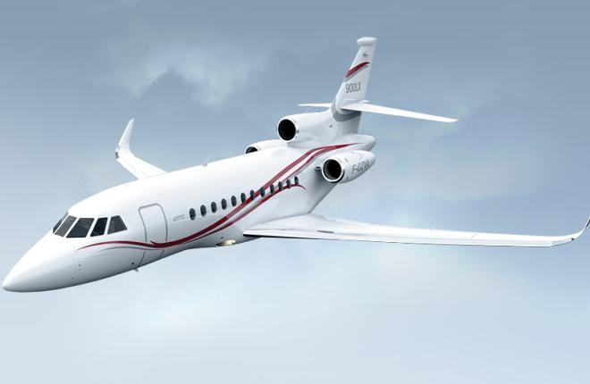Поставки бизнес-джетов Dassault Falcon продолжили сокращаться