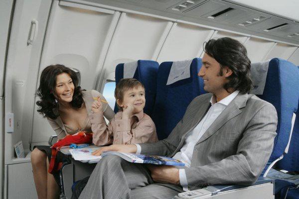 Семейные перелеты — роскошь, доступная всем